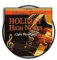 Holiday High Notes Light Piano Jazz -  - EACH CD $2 BUY AT LEAST 4  - PCT Music
