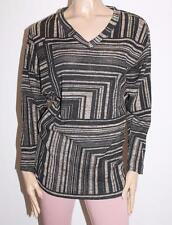 ninth moon Brand Black Geo Stripe Batwing Maternity Top Size XS BNWT #SS48