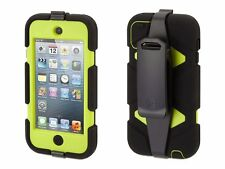 NEW Genuine Griffin Case For Apple iPod Touch 4 Generation - Black/Citron