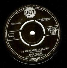 ELVIS PRESLEY It's Now Or Never Vinyl 7 Inch RCA 1207 1960