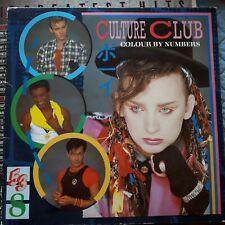 CULTURE CLUB - COLOUR BY NUMBERS -  1983 VIRGIN - ORIGINAL VINYL LP