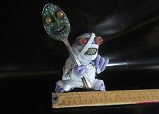 Mealy Monster Halloween Doll Mummy w/ Spoon Mealymonsterland OOAK Handmade