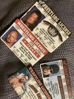 WWF/WWE  WRESTLING IDS & STONE COLD AUTOGRAPH