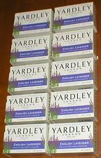 Lot of 10 Yardley London - English Lavender Moisturizing Bath Bar/Soap - 4.25 oz