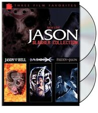 JASON - SLASHER COLLECTION FRIDAY THE 13TH JASON X NEW NIGHTMARE 3 FILM DVD R1