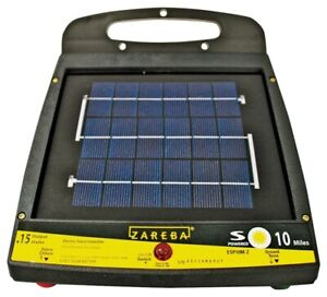 NEW Zareba ESP10M-Z 10-Mile Solar Low Impedance Fence Charger 6841316