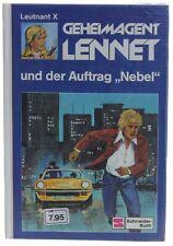 """Geheimagent Lennet und der Auftrag """"Nebel"""" - Band 8 - Leutnant X NEU & in Folie"""