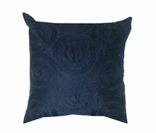 Roulette Navy Blue 43cm x 43cm Cushion Cover Only