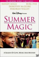 Disney Hayley Mills Small Town Young Love Feel Good Family Film Summer Magic DVD