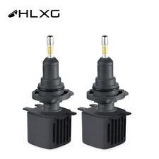 2X Hlxg 4 Sides LED 9005 HB3 SAMSUNG CSP Headlights Fog Lights 6500K 20000lm