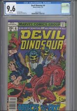 Devil Dinosaur #4  CGC 9.6 1978 Marvel Comics Jack Kirby story & Art: NEW Frame