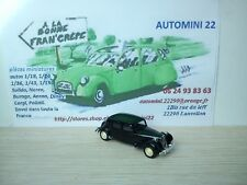 Solido age d'or   Citroen Traction 15/6  1952