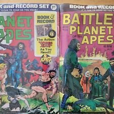Battle For The Planet Of The Apes Book Record Sealed Planet Of Apes Pr21,18 Lot+