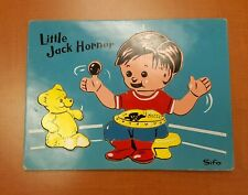 SIFO Wooden Puzzle LITTLE JACK HORNER Wood Vintage Educational School