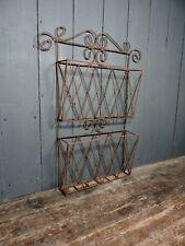 More details for large vintage wirework rack
