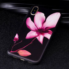 Flower Pattern Silicon Phone Cases For iPhone X