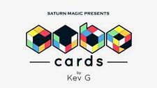 Saturn Magic Presents Cube Cards by Kev G  - Magic Tricks