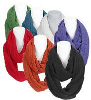 Damen Winter Loop Schal Schlauchschal mehrfarbig Multicolor Rundschal Webschal