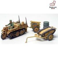 New TAMIYA No.02 German Army Kettenkrad Traction Set F/S from Japan