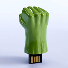 16GB Green Hand Arm Fist Novelty USB Flash Drive Cool Memory Stick For Hulk Fans