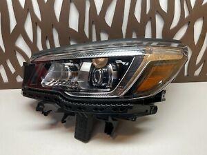 2017 2018 2019 Subaru Forester OEM LH LED Headlight w/o AFS Left Driver Side