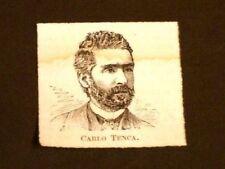 Deputato e Patriota Carlo Tenca di Milano