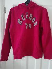 Men's Reebok size M red long sleeved hoody