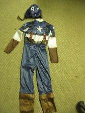 Marvel Captain America Costume Medium 7 8 #244