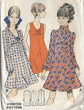 1960s Vintage Sewing Pattern B36 DRESS (R688) Barbara Hulanicki (Biba)