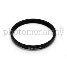 Anello STEP-DOWN adattatore da 55mm a 52mm filtro - STEP DOWN adapter ring 55 52