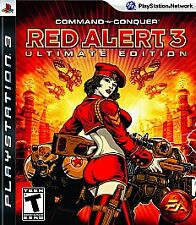Command & Conquer Red Alert 3 PLAYSTATION 3 (PS3) Ultimate Edition Complete