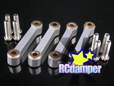 ALUMINUM FRONT & REAR UPPER ARM S FOR TAMIYA TA03 TA03R TA03F ALLOY TA 03 03R 03