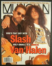 MUSICIAN MAGAZINE 1995 EDWARD VAN HALEN & SLASH Veruca Salt KRISTIN HERSH