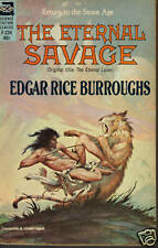The Eternal Savage by Edgar Rice Burroughs ACE F-234