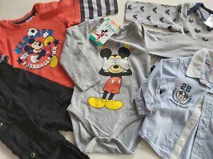 3tlg Jungen Mädchen Baby Mickey Maus Kapuzepullover Jogginganzug Kleidung Outfit