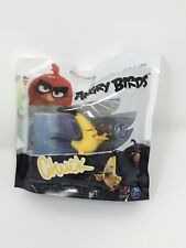 NEW Angry Birds Movie Chuck Collectible Miniature Action Figure Spin Master