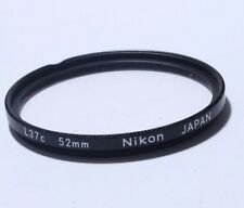 Lens Filter: Nikon L37c UV Multi-Coated 52mm JAPAN  - Free Shipping Worldwide
