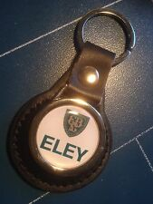 ELEY Shotgun Cartridges: LEATHER KEY RING  &  FREE ELEY  STICKER
