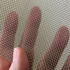 2 Pack Stainless Steel Woven Wire Mesh Security Window Screening Mesh Garden ...