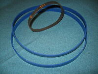 BLUE MAX URETHANE BAND SAW TIRES AND DRIVE BELT FOR SHOP FOX F28-186 BANDSAW