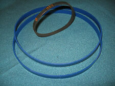 2 BLUE MAX URETHANE BAND SAW TIRES AND DRIVE BELT FOR YUKON YTBS10  BAND SAW