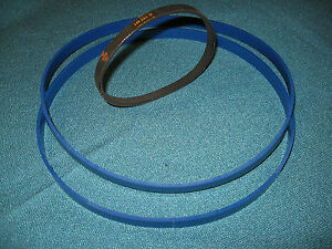 BLUE MAX URETHANE BAND SAW TIRES AND DRIVE BELT FOR  RIKON EBAS 250 BAND SAW