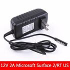 12V 2A Wall Power Charger Adapter For Microsoft Surface 2 RT Pro Tablet US