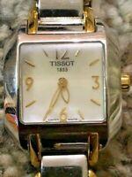 Vintage Swiss Tissot 1853 L750/850 Sapphire Crystal Mother of Pearl Ladies Watch