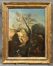 Attrib. to Salvator Rosa (ITALIAN 1615-1673) 17th Century Landscape Oil Painting