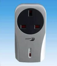 HE302 S Silver Home Easy Remote Control Power On/ Off Socket Byron