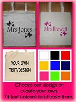 Personalised Tote Bag, Shopping Bag, Cotton Bag, Canvas Bag Personalised Gift,