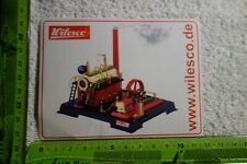 Steam Powered Wilesco 2 Page Catalogue 2012 Powered Toys