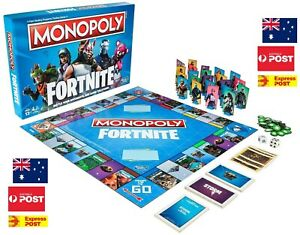 Monopoly Fortnite Board Game Property Fun Friends Family Hasbro Great Gaming NEW