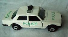 1979 Old Matchbox Bulgaria Mercedes 450 SEL POLICE white scaled 1:64